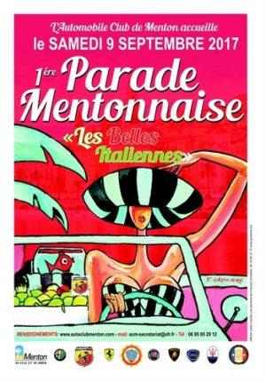 1ère Parade Mentonnaise « les belles Italiennes »