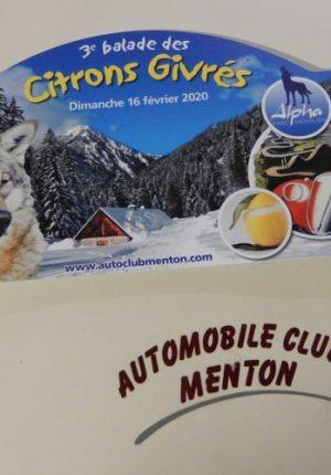 3ème Balade Citrons Givrés