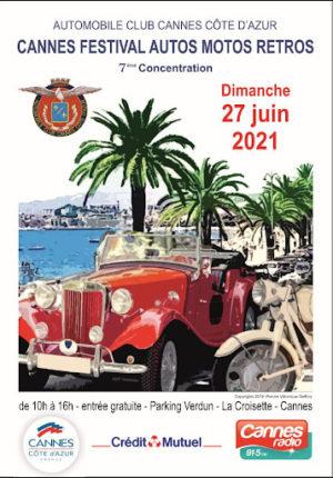 7° concentration de véhicules anciens – Automobile club de Cannes